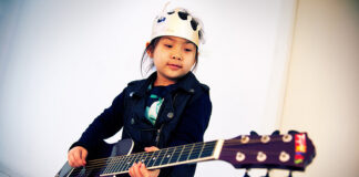 Young Rock Star in Training