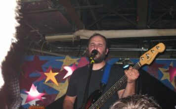 David Bazan plays live music show